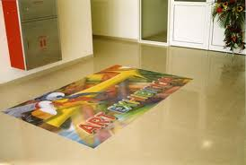 Solvent Floor Graphics Vinyl
