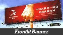 Solvent Scrim Banner
