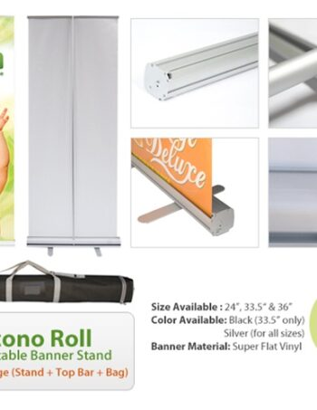 Econo Roll Retractable Banner Stand
