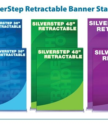 SilverStep Retractable Banner Stand