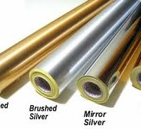 Gold, Silver, and Chrome Vinyl