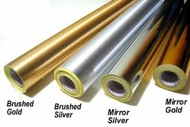 Solvent/Eco-Solvent Metallized Vinyl Film