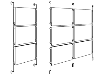 Hanging Display Systems