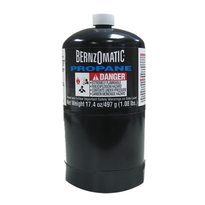 Bernzomatic Wide Base Disposable Propane Cylinders 16 04
