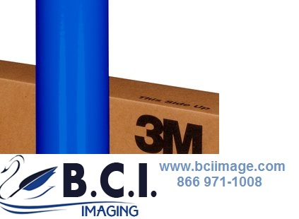 3M Scotchcal Translucent Graphic Film 3630-337 Process Blue