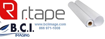 R Tape 4078 RLA® Conform®: Medium Tack, Standard Paper