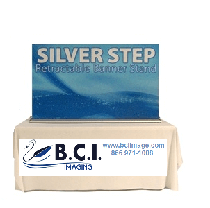 """Silverstep Tabletop 60"""" Graphic Package"""