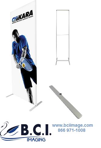 Econotube Fabric Displays