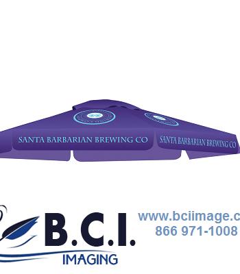 Skycap Umbrella Full Color Print Graphic Only