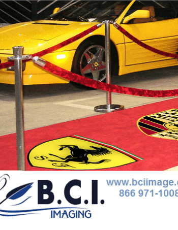Solvent Carpet Graphics
