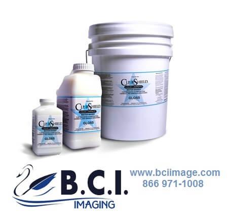 Marabu Clear Shield Classic Water-Based Liquid Coatings Matte , 5-Gallon