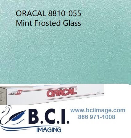 Orafol ORACAL 8810-55 Mint Frosted Glass Cast Film