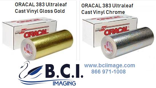 ORAFOL ORACAL 383 Ultraleaf Cast Vinyl Chrome