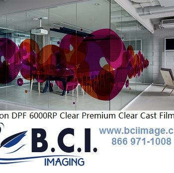 Adhesive Backed Clear Vinyl – B C I  IMAGING SUPPLIES