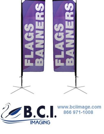 Mamba Flag Outdoor Banner Stands