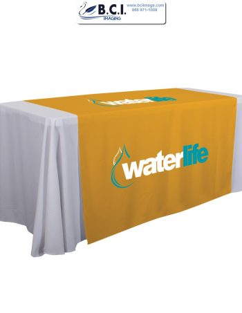 "57"" Standard Table Runner (Full-Color Imprint, Two Locations)"