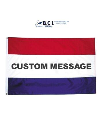 Custom Message Nylon Flag