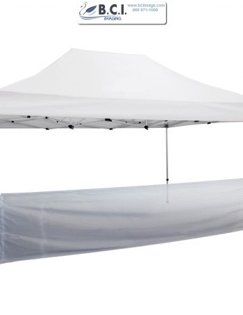 15' Tent Half Wall