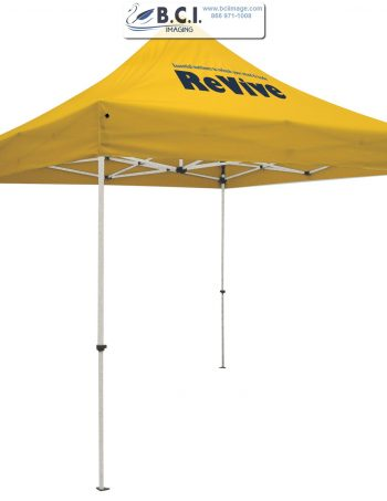 Standard 10' Tent Kit (Full-Color Imprint, One Location)