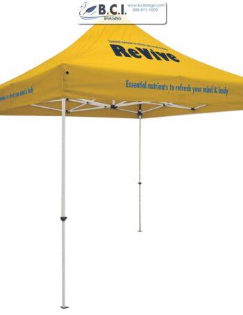 Standard 10' Tent Kit (Full-Color Imprint, Three Locations)