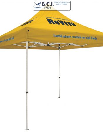 Standard 10' Tent Kit (Full-Color Imprint, Four Locations)