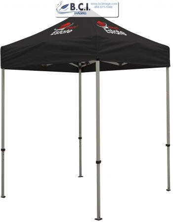 Deluxe 6' Tent Kit (Full-Color Imprint, Two Locations)