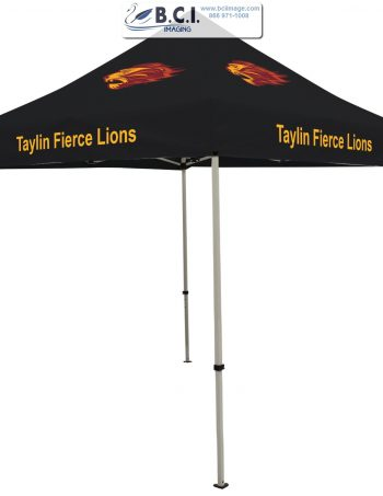 Deluxe 8' Tent Kit (Full-Color Imprint, Four Locations)