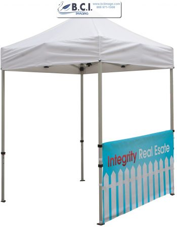 Deluxe 6' Tent Kit (Full-Bleed Dye-Sublimation)