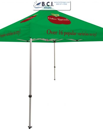 Ultimate 10' Tent Kit (Full-Color Imprint, Four Locations)