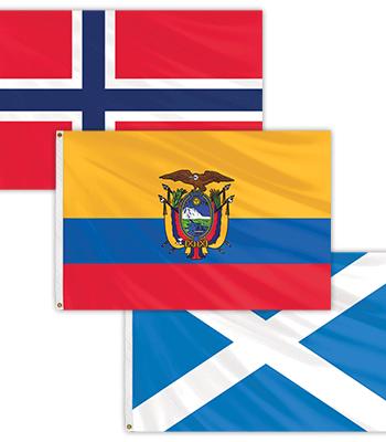 International Flag – 3' x 5'
