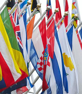 International Flag – 4' x 6'