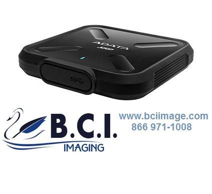 Black//Yellow 1TB AData SD700 Durable External SSD USB3.1 Interface